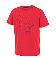 Salewa Frea Stambecco - T-Shirt arrampicata - bambino, Papavero