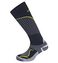 Salewa FSM Warm Merino Socks, Black/Yellow
