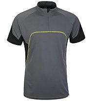 Salewa Galiant DRY M S/S Tee, Smoke