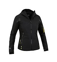 Salewa Geierwally Stormwall Softshell Alpinjacke Damen, Black