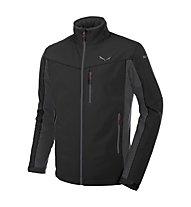 Salewa Geisler 2 - giacca softshell trekking - uomo, Black