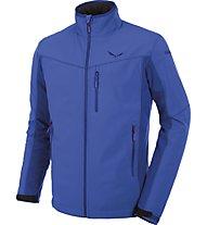 Salewa Geisler 2 - giacca softshell trekking - uomo, Blue