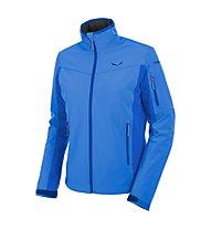 Salewa Geisler 2 SW - giacca softshell trekking - donna, Blue