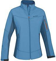 Salewa Geisler Sormwall - giacca Softshell trekking - donna, Light Blue