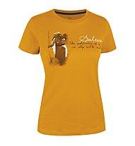Salewa Gombu CO W S/S Tee T-Shirt tempo libero, Marigold