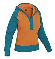 Salewa Goodline CO - Felpa con cappuccio arrampicata - donna, Spicy Orange