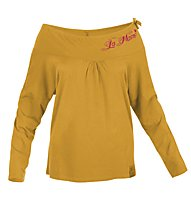 Salewa Grapewine Klettershirt Langarm Damen, Light Orange