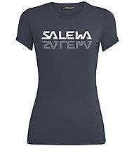 Salewa Graphic Dri-Rel W S/S Tee - T-Shirt - Damen, Dark Blue