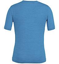 Salewa Graphic Dry K S/S - T-shirt - bambino, Blue