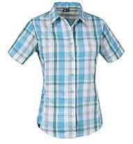 Salewa Hannah DRY Shirt S/S W's, Kaji Peacock