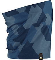Salewa Icono - scaldacollo, Dark Blue/Blue
