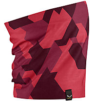 Salewa Icono - scaldacollo, Dark Red/Red