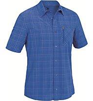 Salewa Isortoq - camicia manica corta trekking - uomo, Blue