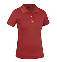 Salewa Itza 2 Dry'ton - Polo trekking - donna, Red