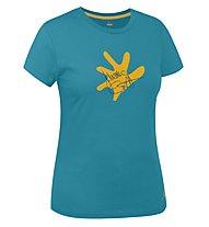 Salewa J.Ernst T-shirt arrampicata donna, Pagoda