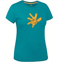 Salewa J.Ernst - T-shirt arrampicata - donna, Light Blue