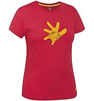 Salewa J.Ernst - T-shirt arrampicata - donna, Red