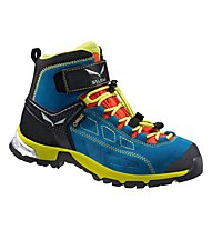 Salewa JR Alp Player Mid GTX Kinder Wander- und Bergschuh, Crystal/Citro