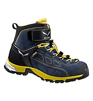 Salewa JR Alp Player Mid GTX Kinder Wander- und Bergschuh, Winter Night/Ringlo