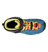Salewa Alp Player Mid GTX - Scarpe da trerkking - bambino, Blue