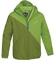 Salewa Jumbo Love Stormwall giacca bambino, Foliage