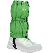 Salewa Junior Gaiter - Gamasche - Kinder, Green