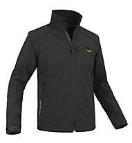 Salewa Kabru SW M 2/1 Jacket Giacca Softshell, Black