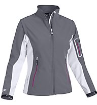 Salewa Kabru Stormwall Softshelljacke Damen, Grey