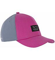 Salewa Logo K - Schirmmütze - Kinder, Grey/Pink