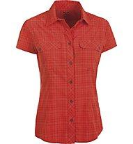 Salewa Kitaa 2.0 Dry'ton - camicia a manica corta trekking - donna, Red