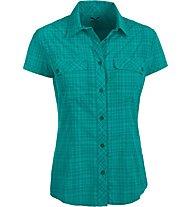 Salewa Kitaa 2.0 Dry'ton - camicia a manica corta trekking - donna, Dark Green