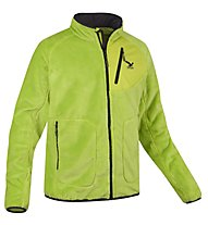 Salewa Knut Lo. M Jacket Giacca in pile, Swing Green