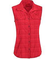 Salewa Kyst 2.0 DRY - camicia senza maniche trekking - donna, Red