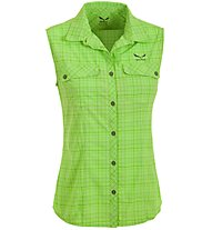 Salewa Kyst 2.0 DRY - camicia senza maniche trekking - donna, Green
