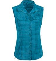 Salewa Kyst 2.0 DRY - camicia senza maniche trekking - donna, Blue