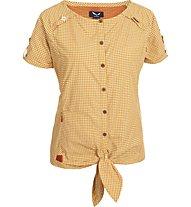 Salewa Landro Dry'ton camicia a manica corta donna, M Terrac/Nugget/Raff