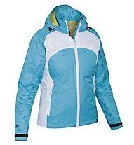 Salewa Lares PTX - giacca con cappuccio trekking - donna, Turquoise