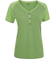 Salewa Lipella Dry'ton - T-Shirt trekking - donna, Green