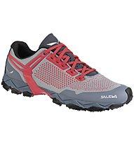 Salewa Lite Train - scarpe trail running - donna, Grey/Red