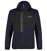 Salewa M Fedaia Alpine Wool Jkt - Kapuzenjacke - Herren , Dark Blue