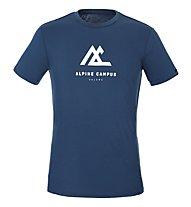 Salewa M Geometric S/S - T-shirt - Damen, Navy