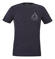Salewa M Geometric S/S - T-shirt - Damen, Dark Grey
