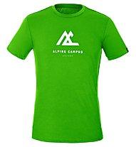 Salewa M Geometric S/S - T-shirt - Damen, Green
