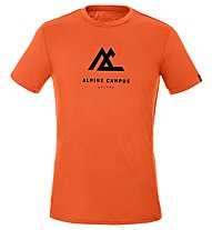 Salewa M Geometric S/S - T-shirt - Damen, Orange