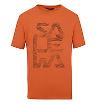 Salewa M Graphic 2 S/S - Tshirt - Herren, Orange
