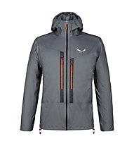 Salewa M Lagorai - giacca in GORE-TEX® con cappuccio - uomo, Dark Grey/Orange