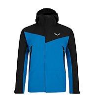 Salewa Moiazza - giacca in GORE-TEX® con cappuccio - uomo, Light Blue/Black