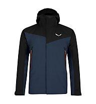 Salewa Moiazza - giacca in GORE-TEX® con cappuccio - uomo, Dark Blue/Black
