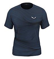 Salewa M Seceda Dry - T-shirt - Herren, Navy