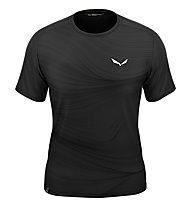 Salewa M Seceda Dry - T-shirt - Herren, Black